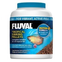 Fluval Tropical Sinking Fish Pellet Medium Replaces Nutrafin Foods